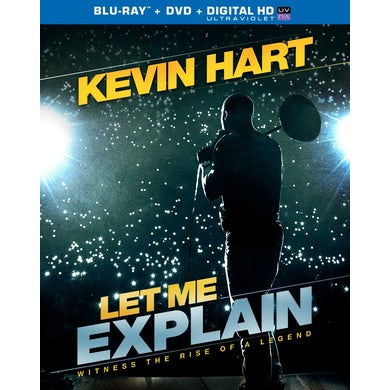 Kevin Hart LET ME EXPLAIN Blu-ray