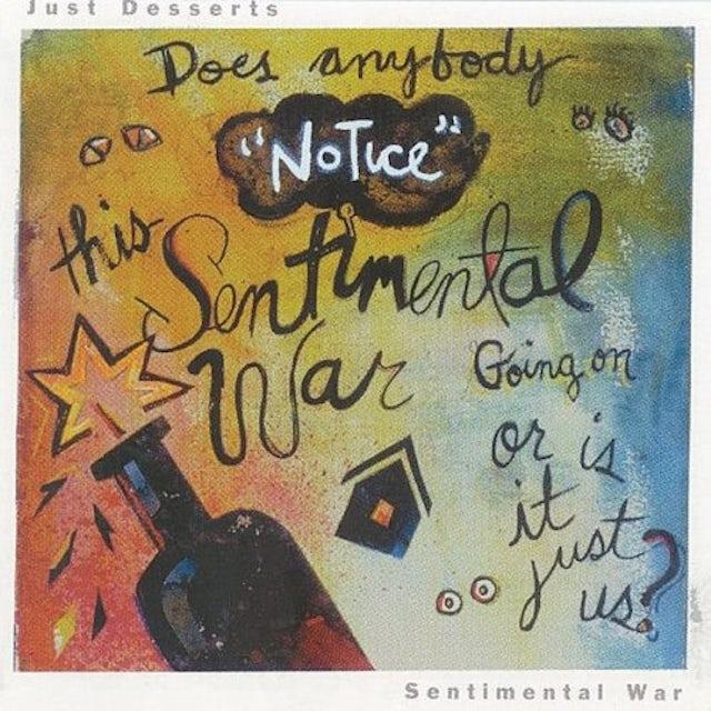 Just Desserts SENTIMENTAL WAR Vinyl Record