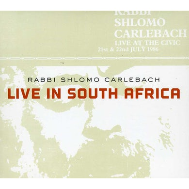 LIVE IN SOUTH AFRICA CD