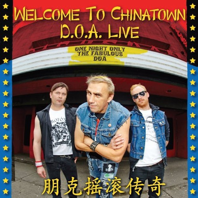 WELCOME TO CHINATOWN: DOA LIVE Vinyl Record