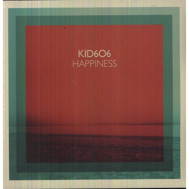 Kid606 HAPPINESS Vinyl Record