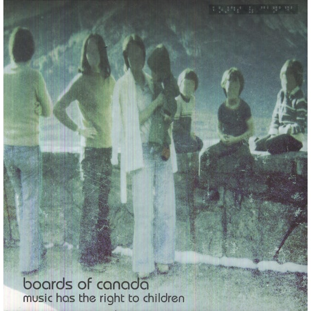 Boards Of Canada MUSIC HAS THE RIGHT TO CHILDREN Vinyl Record