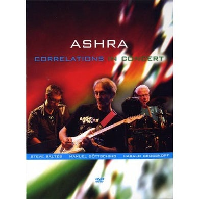 Ashra CORRELATIONS IN CONCERT DVD