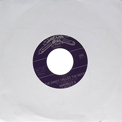 Marvelle & The Blue Mats DANCE CALLED THE MOTION Vinyl Record