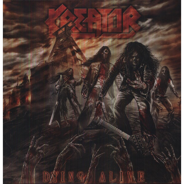 Kreator DYING ALIVE Vinyl Record
