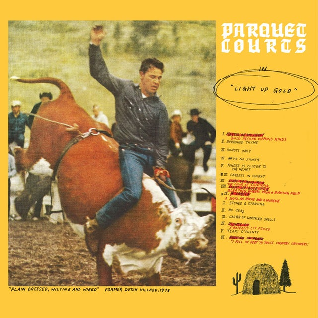 Parquet Courts LIGHT UP GOLD / TALLY ALL THE THINGS THAT YOU CD