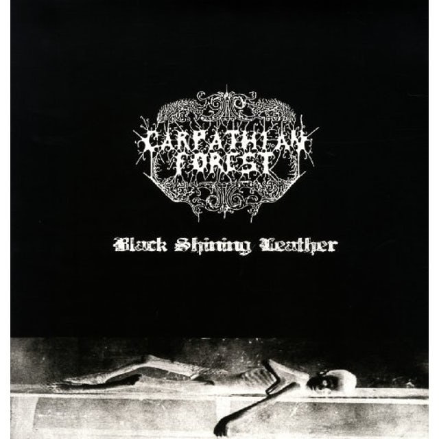 Carpathian Forest BLACK SHINING LEATHER Vinyl Record