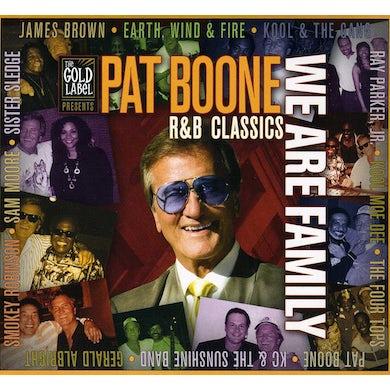 Pat Boone WE ARE FAMILY: R&B CLASSICS CD