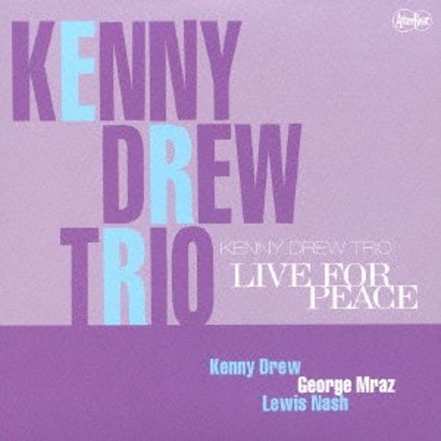 Kenny Drew LIVE FOR PEACE CD