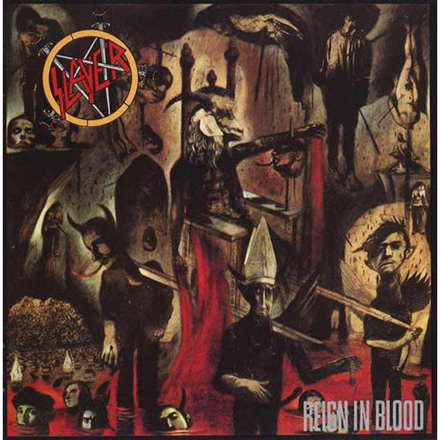Slayer REIGN IN BLOOD Vinyl Record