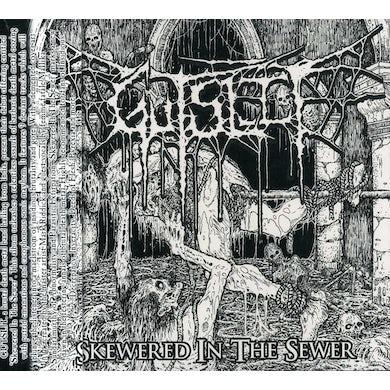 Gutslit SKEWERED IN THE SEWER CD