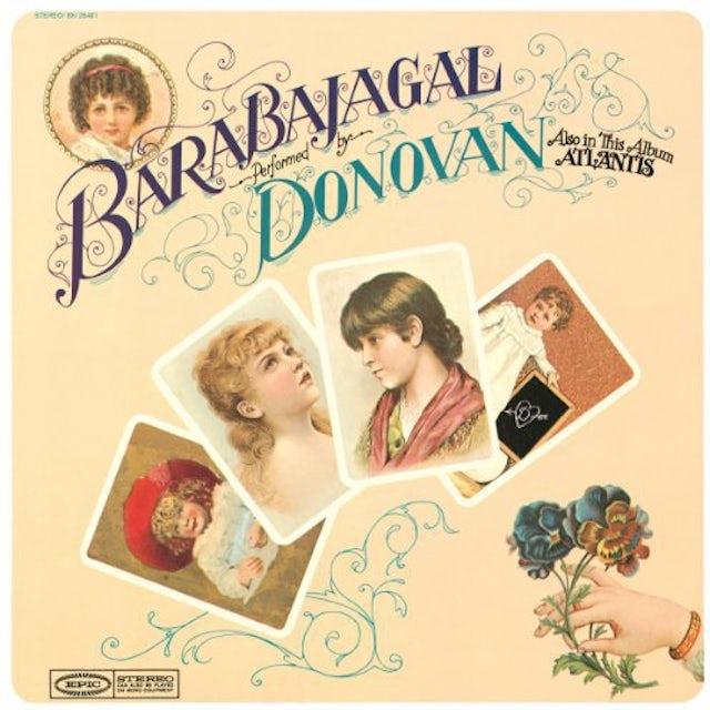 Donovan BARABAJAGAL Vinyl Record - Holland Release
