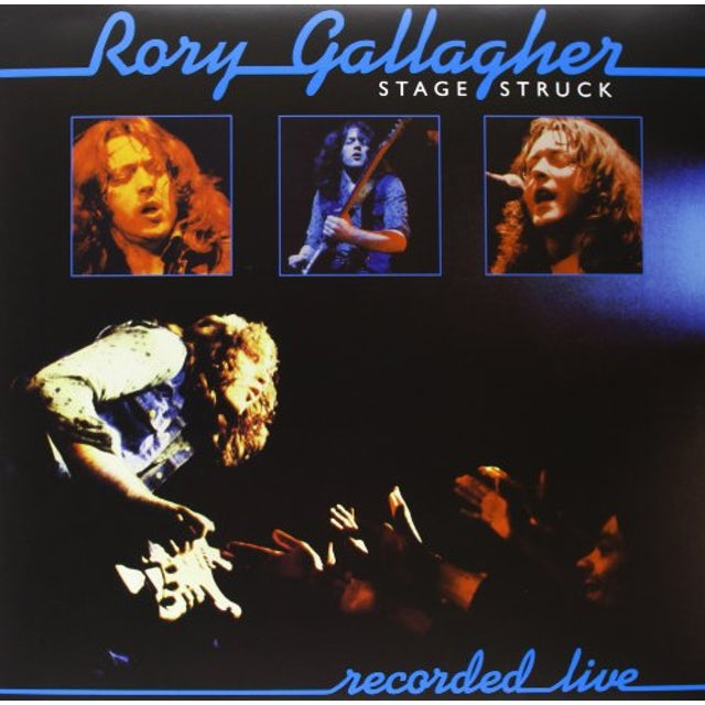 Rory Gallagher STAGE STRUCK Vinyl Record