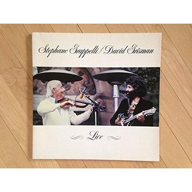 Stephane Grappelli / David Grisman LIVE Vinyl Record