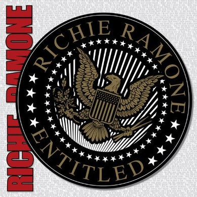 Richie Ramone ENTITLED Vinyl Record