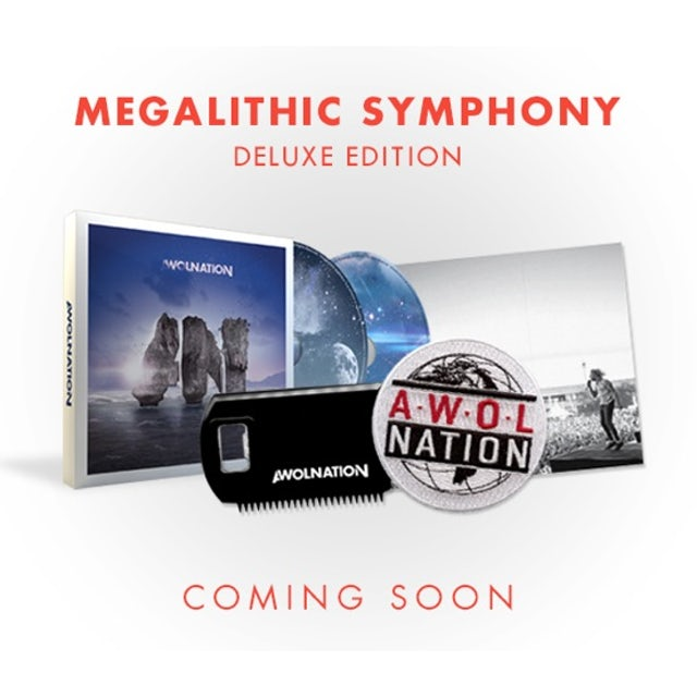 Awolnation MEGALITHIC SYMPHONY DELUXE CD
