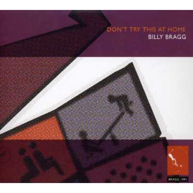 Billy Bragg DON'T TRY THIS AT HOME CD
