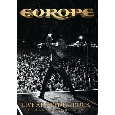 Europe LIVE AT SWEDEN ROCK: 30TH ANNIVERSARY SHOW DVD