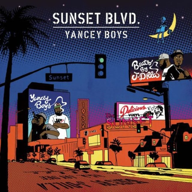 Yancey Boys SUNSET BLVD Vinyl Record