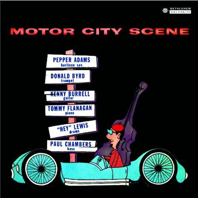 Donald Byrd / Pepper Adams MOTOR CITY SCENE Vinyl Record