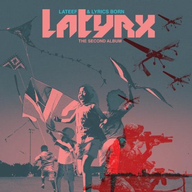 Latyrx SECOND ALBUM Vinyl Record