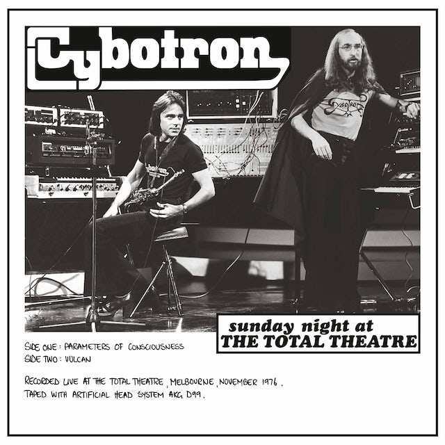 Cybotron SUNDAY NIGHT AT THE TOTAL THEATRE Vinyl Record
