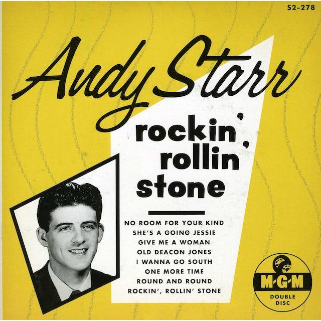 Andy Starr ROCKIN ROLLIN STONE Vinyl Record