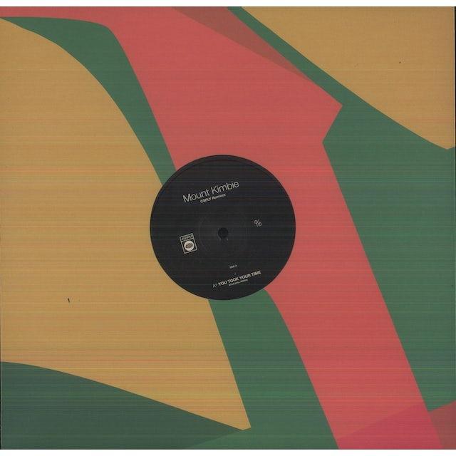 Mount Kimbie CSFLY REMIXES Vinyl Record