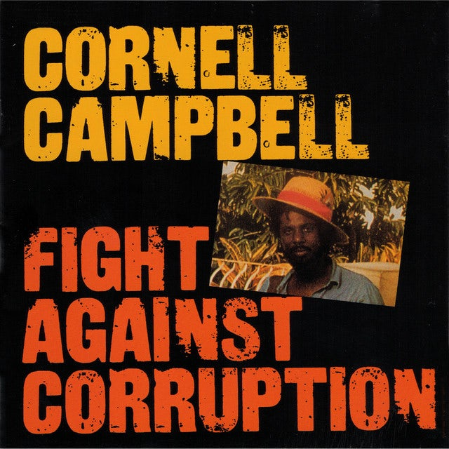 Cornell Campbell FIGHT AGAINST CORRUPTION Vinyl Record