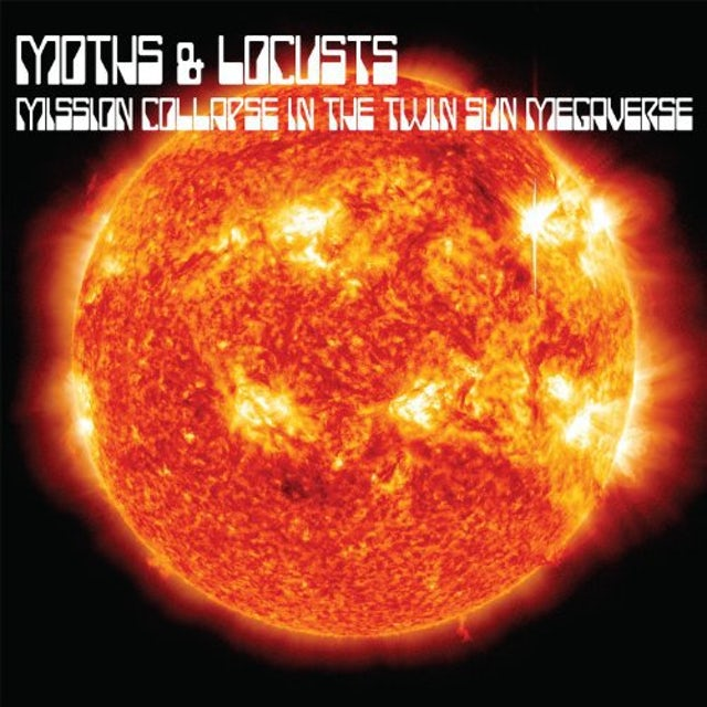 Moths & Locusts MISSION COLLAPSE IN THE TWIN SUN MEGAVERSE Vinyl Record