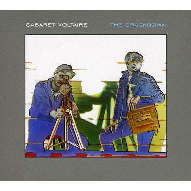 Cabaret Voltaire CRACKDOWN CD