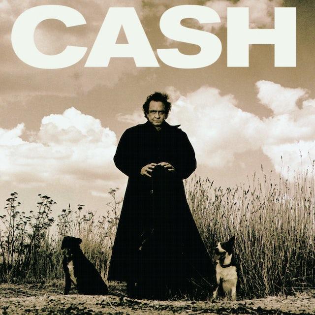 Johnny Cash AMERICAN RECORDINGS Vinyl Record