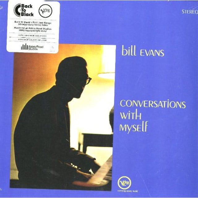 Bill Evans CONVERSATIONS WITH MYSELF Vinyl Record