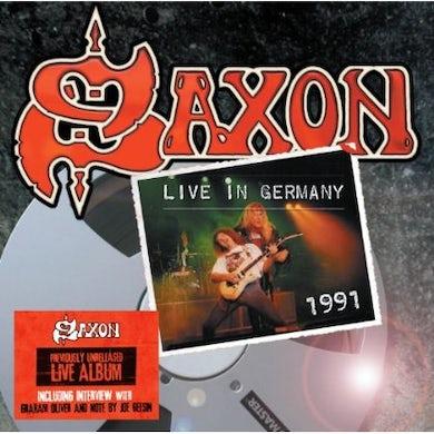 Saxon LIVE IN GERMANY 1991 CD