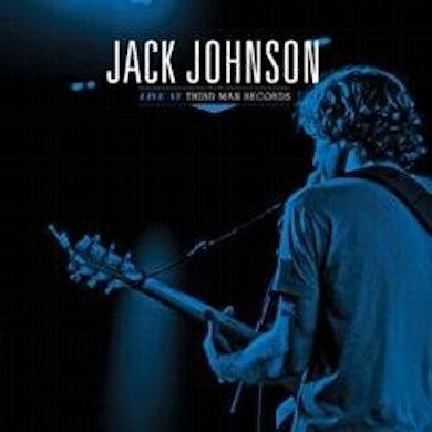 Jack Johnson LIVE AT THIRD MAN RECORDS 6-15-13 Vinyl Record