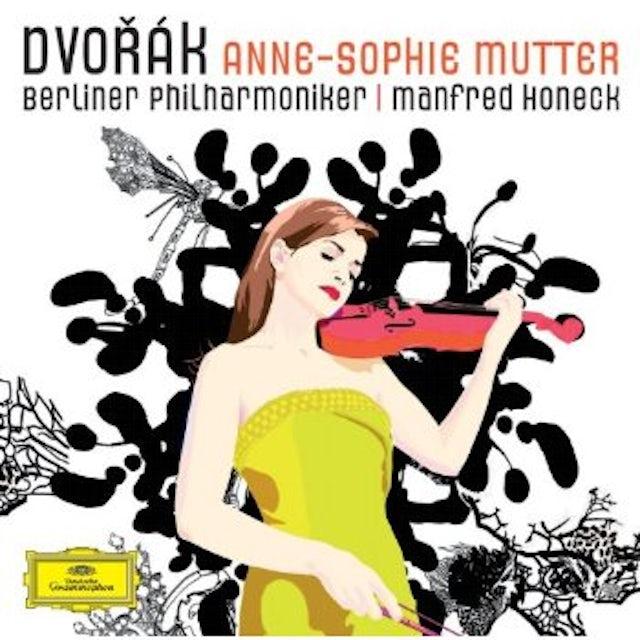 DVORAK / MUTTER / HONECK / BERLINER PHILHARMONIKER VIOLIN CONCERTO CD