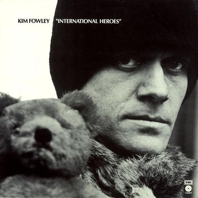 Kim Fowley INTERNATIONAL HEROES Vinyl Record
