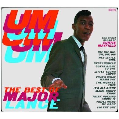 Major Lance UM UM UM UM UM UM Vinyl Record - 180 Gram Pressing