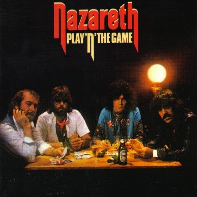 Nazareth PLAY'N THE GAME Vinyl Record