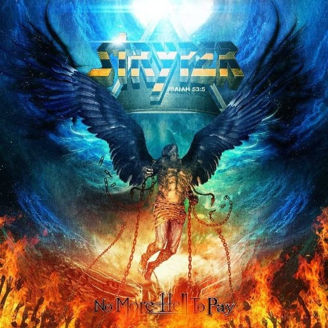 Stryper NO MORE HELL TO PAY Vinyl Record
