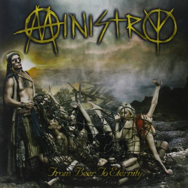 Ministry FROM BEER TO ETERNITY (GOLD VINYL EDITION) Vinyl Record