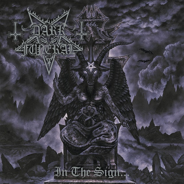 Dark Funeral IN THE SIGN Vinyl Record