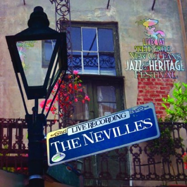 Neville Brothers LIVE AT JAZZFEST 2013 CD
