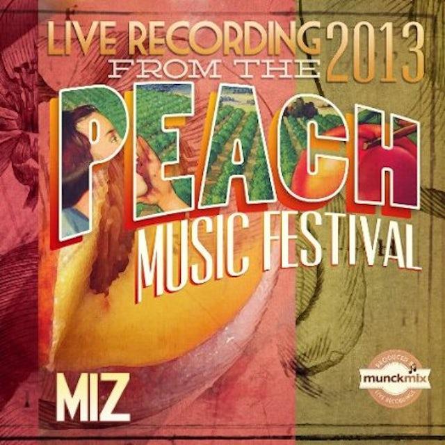 MiZ LIVE AT PEACH MUSIC FEST 2013 CD