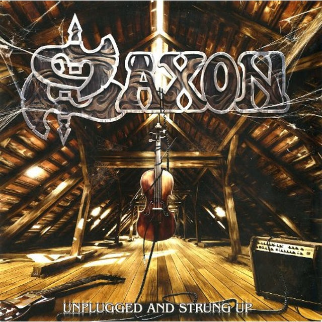 Saxon UNPLUGGED & STRUNG UP Vinyl Record