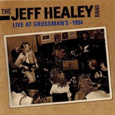 Jeff Healey LIVE IN GROSSMAN'S Vinyl Record