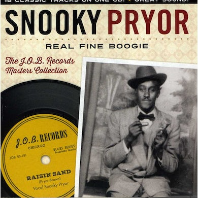 Snooky Pryor REAL FINE BOOGIE THE J.O.B. RECORDS MASTERS CD