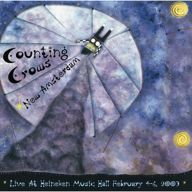 Counting Crows NEW AMSTERDAM-LIVE AT HEINEKEN MUSIC HALL CD