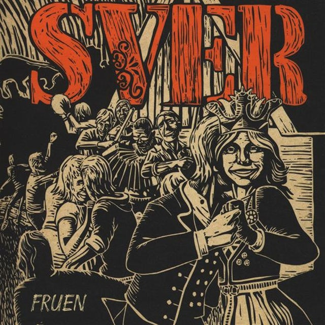 Sver FRUEN Vinyl Record