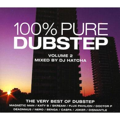 Dj Hatcha V2 100 PERCENT PURE DUBSTEP CD